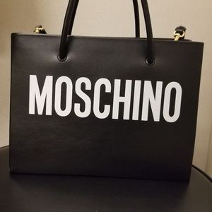 SOLD Moschino Tote Bag